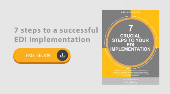 Free e-book: 7 steps to a successful EDI Implementation