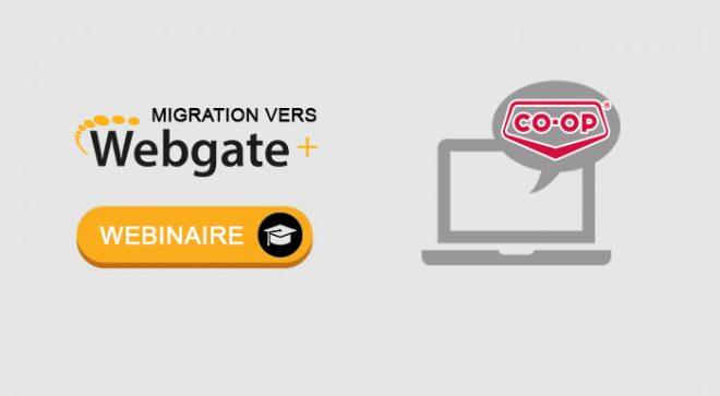 Migration des clients Federated Co-op vers Webgate+